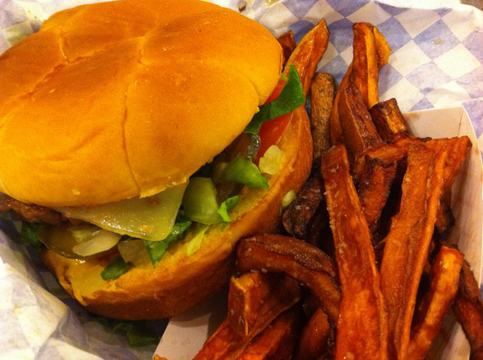 8. Wholly Cow is a wonderful place to enjoy the straight-up good, greasiness that is a cheeseburger.