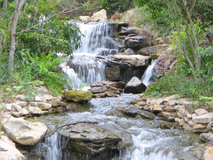 9 Beautiful Man Made Waterfalls In Texas