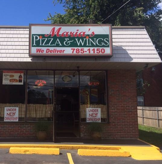 8. Maria's Pizza and Wings, Cranston