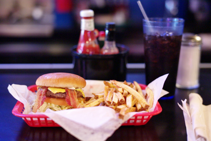 3. Hut's Hamburgers is the ultimate burger joint, sprouted in Austin decades ago, serving up no-frills-good-ol' fashioned burgers and fries.