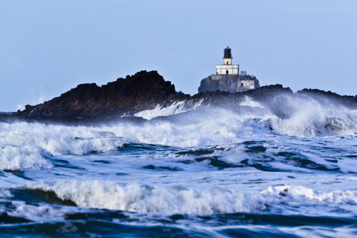 4. Tillamook Rock Lighthouse is the final resting place of around 30 cremated people.