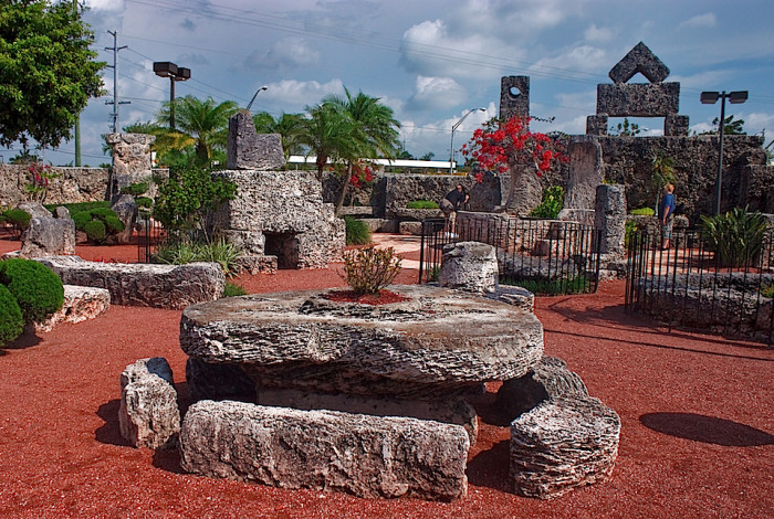 14. What is the name of this mysterious stone structure located in Homestead?