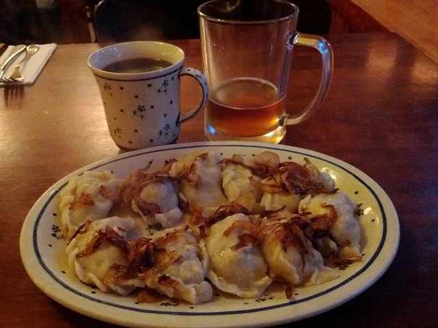 9. Indulge in some traditional Pennsylvania fare, such as pierogies...