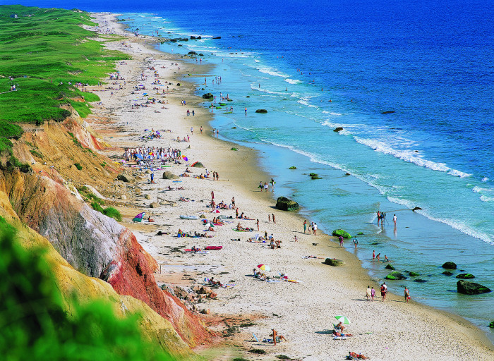 9. The striking colors of Chilmark Beach on Martha's Vineyard mean that pretty much any shot you take will be stunning.