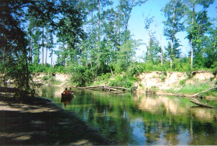 10. Go canoeing on the Ouiska Chitto Creek.