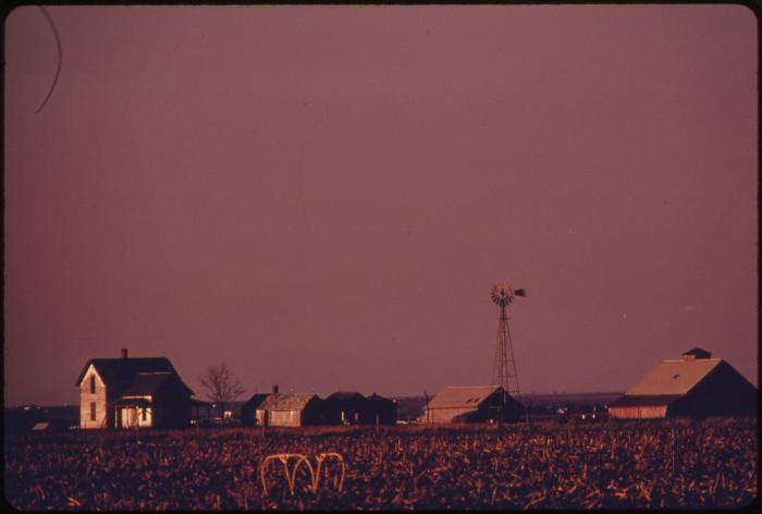 2. A farm somewhere near Lincoln, May 1973