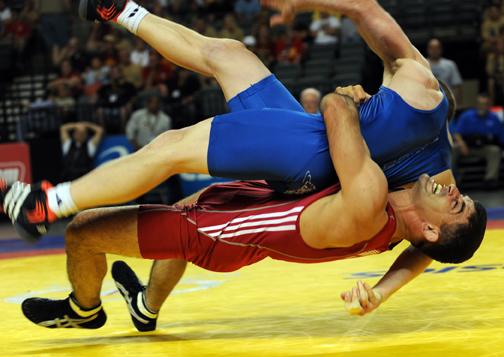 6. The wrestler