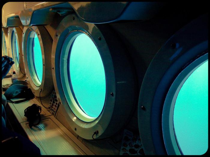 7. Head underwater with a submarine tour.