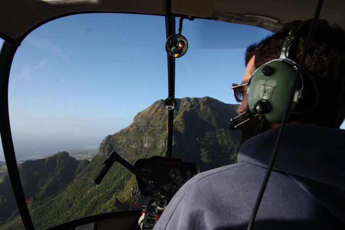 7. What about the safer alternative – a helicopter tour?