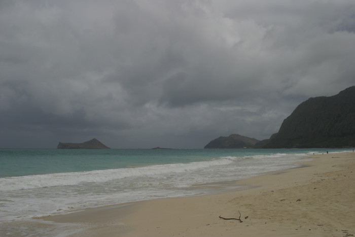 7. You have stayed at the beach when it started raining because you knew it would stop shortly anyway.