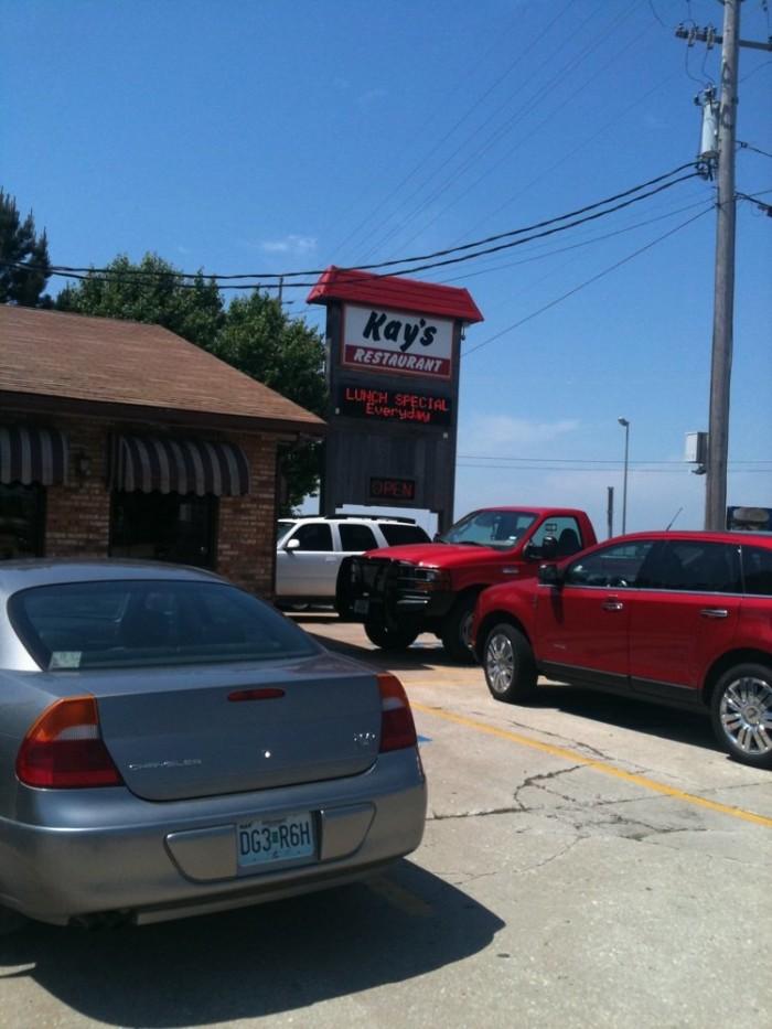 Breakfast Day Three:  Kay's Restaurant, Osage Beach