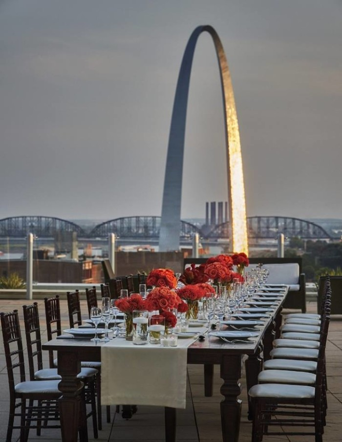 Sky Terrace, Cielo Restaurant U0026 Bar, Four Seasons Hotel, St. Louis