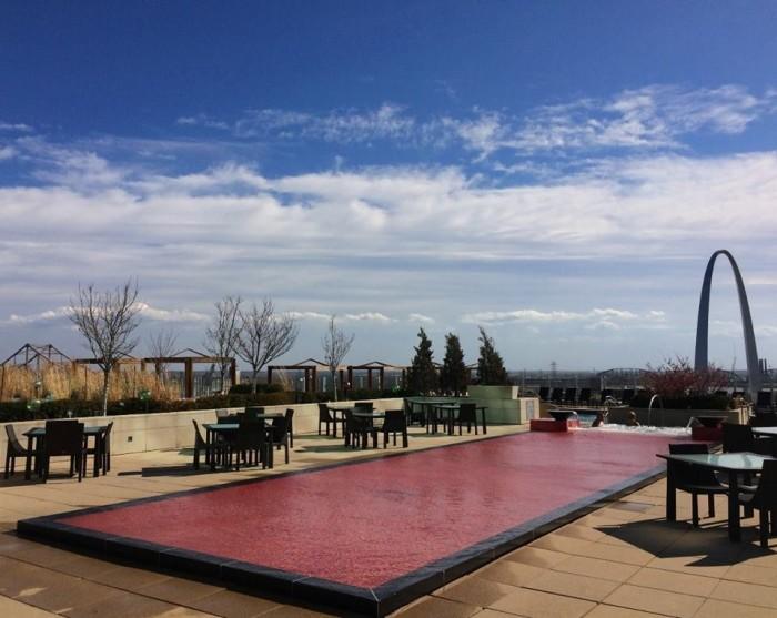 7.2. Sky Terrace, Four Seasons, St. Loui
