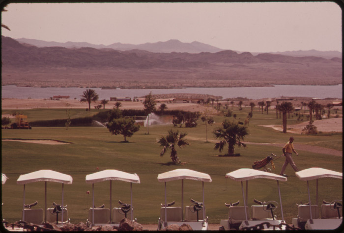 20. Finally, here is a look at a 1972 golf course in Lake Havasu City all ready for scores of summer golfers.
