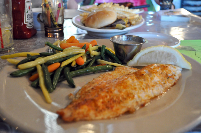 6. After lunch, probably that walleye you caught…