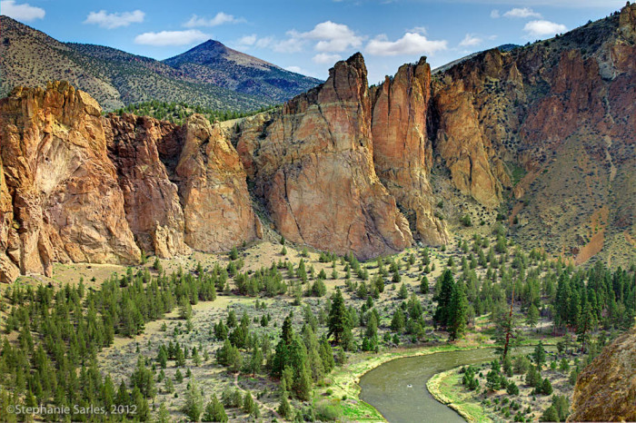 8. Misery Ridge at Smith Rock State Park.