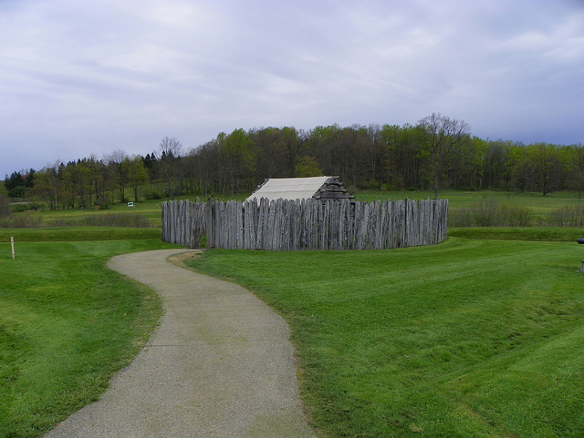 8. Fort Necessity in Fayette County