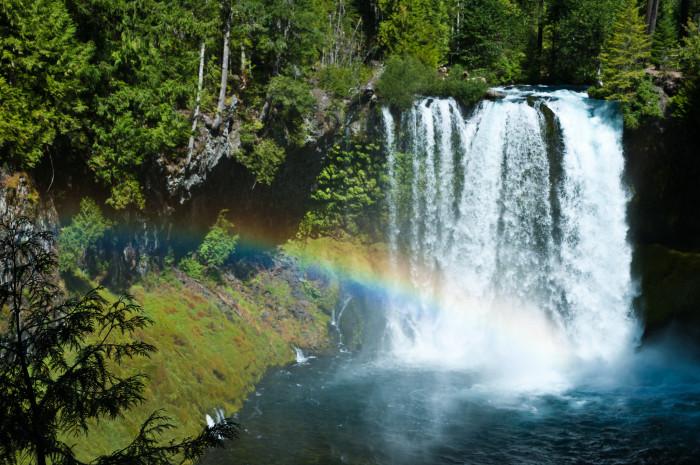 7. Koosah Falls