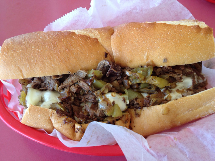 9. Philly Cheesesteak