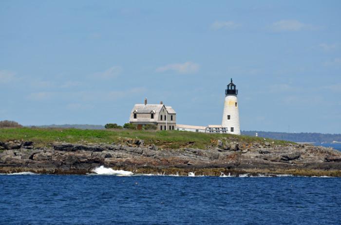 6. Wood Island Lighthouse, Saco Bay
