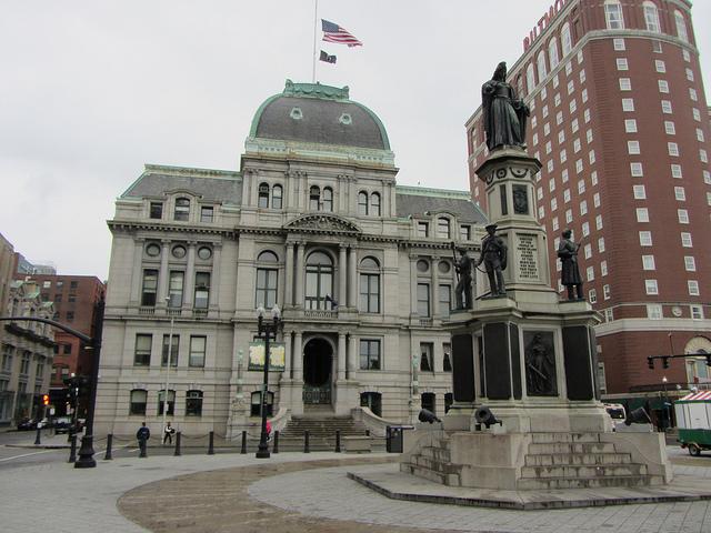 3. Providence City Hall