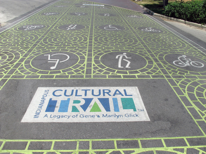 5. Indianapolis Cultural Trail