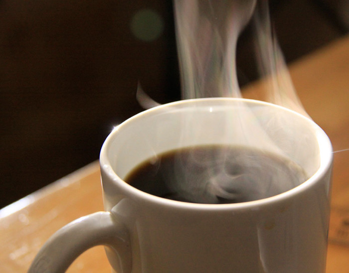 2. Don't forget the cup of java.