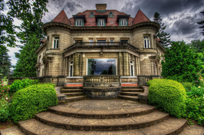 6. We have haunted mansions....