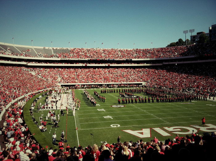 5. Tailgating any other team except UGA just doesn't feel the same.