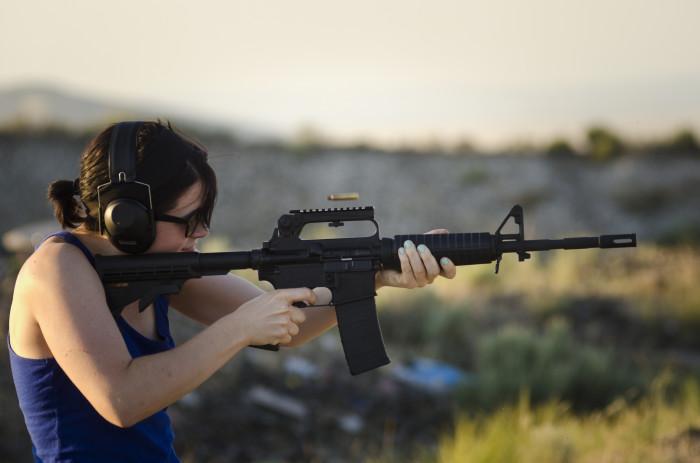 6. Learn to Shoot a Gun