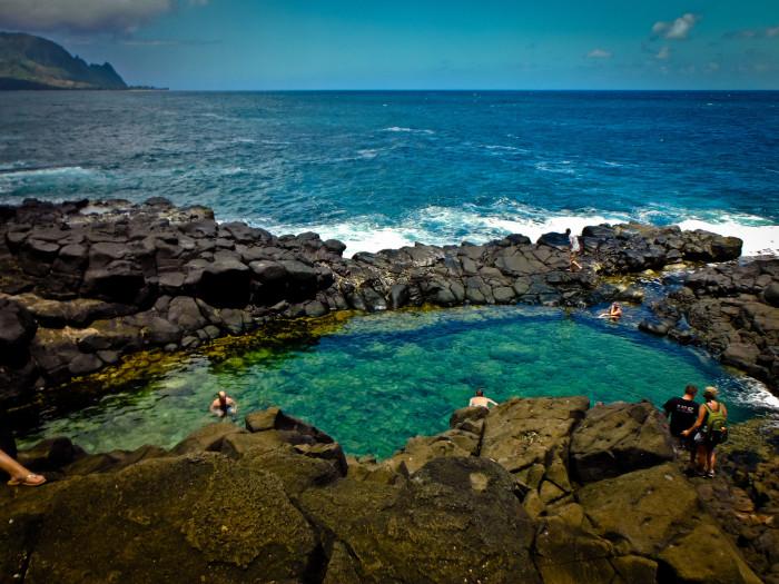 3) Queen's Bath - Kauai, Hawaii
