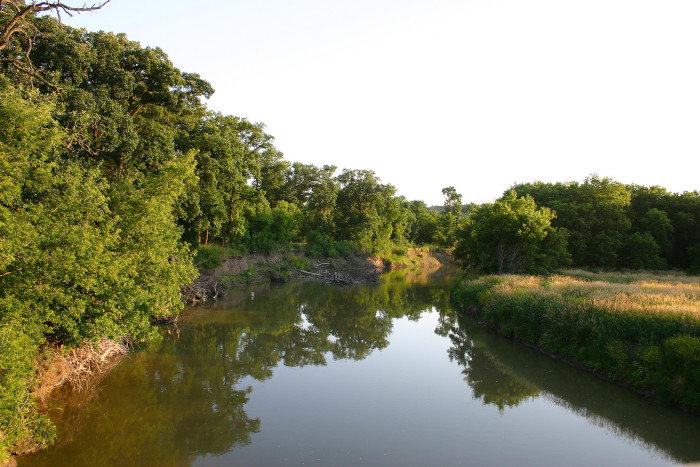 The park is part of the Sheyenne River Valley and is located just 35 miles south of Valley City.