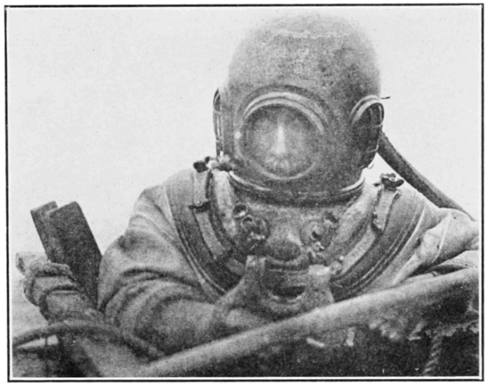 3. The original patent for the sealed dive-suit came from Maine.