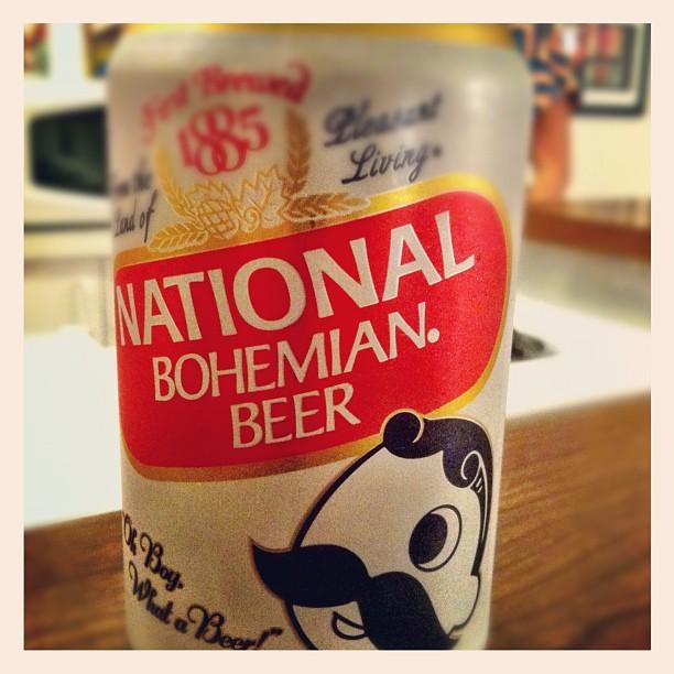 7. National Bohemian Beer