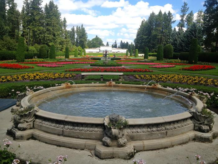 14. Visit Duncan Garden at Manito Park.