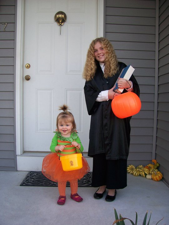 9. Trick or treating was legit. You knew most of the people who lived in the houses you went to and there were no worries about razor blades in apples.