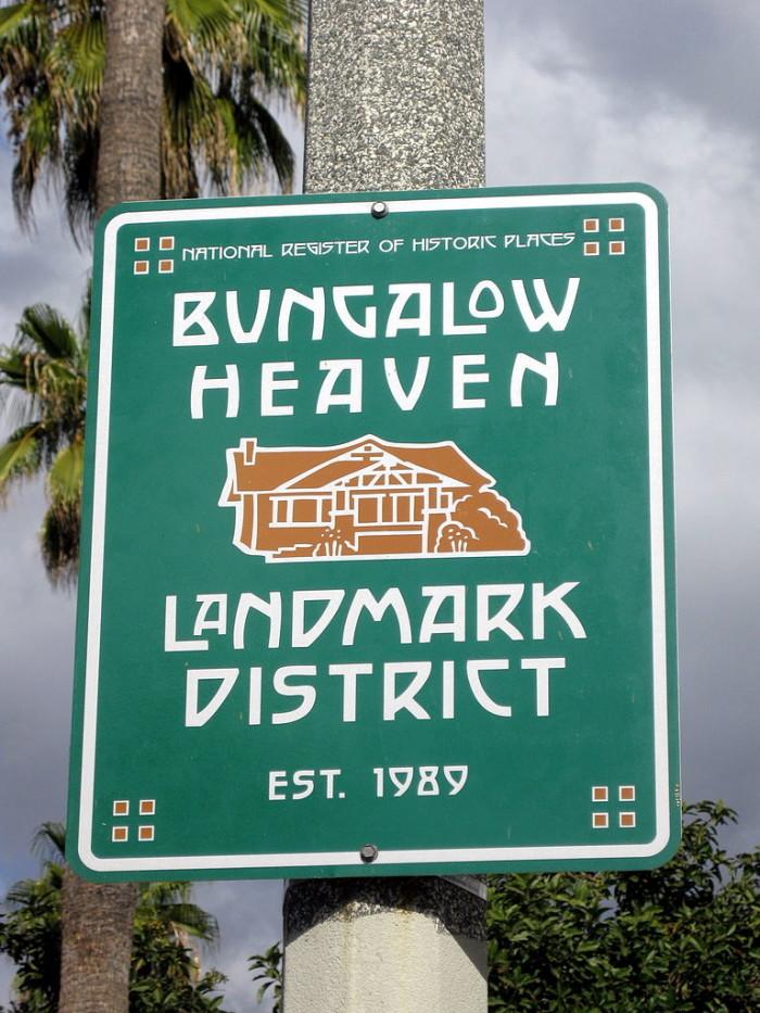 9. Bungalow Heaven in Pasadena
