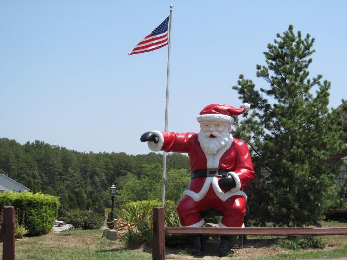 11. Santa Statue, Santa's Castle, and the Santa Museum - Santa Claus