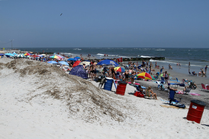 8. Wildwood beaches are actually getting larger each year.