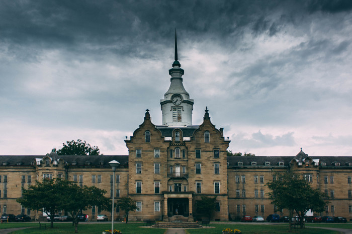 6. The Trans-Allegheny Lunatic Asylum in Weston, West Virginia