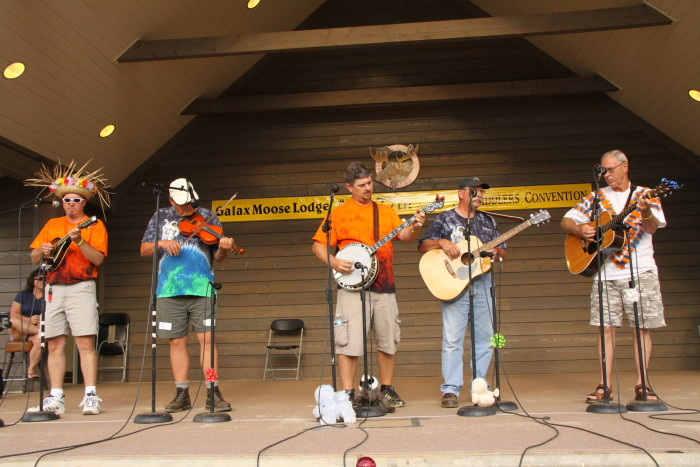 4. Attend the Galax Old Fiddlers' Convention
