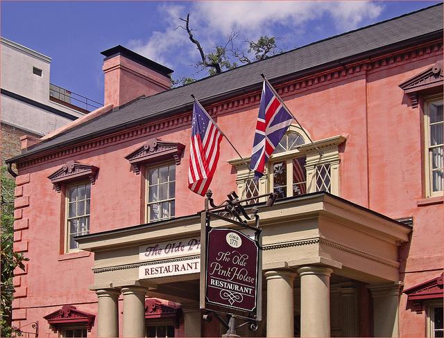 2. The Old Pink House—23 Abercorn St, Savannah, GA 31401