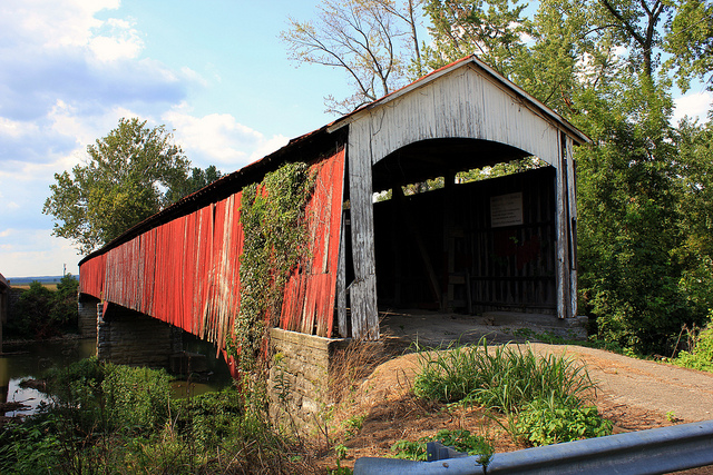 8. Shieldstown Covered Bridge - Seymour