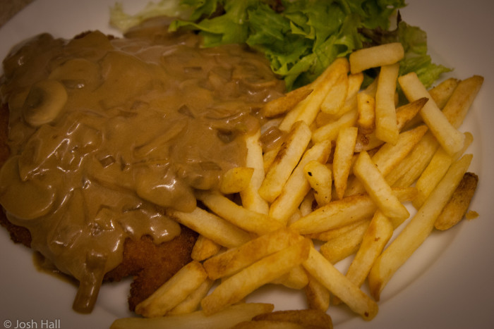 3. Chow down on as much German food...