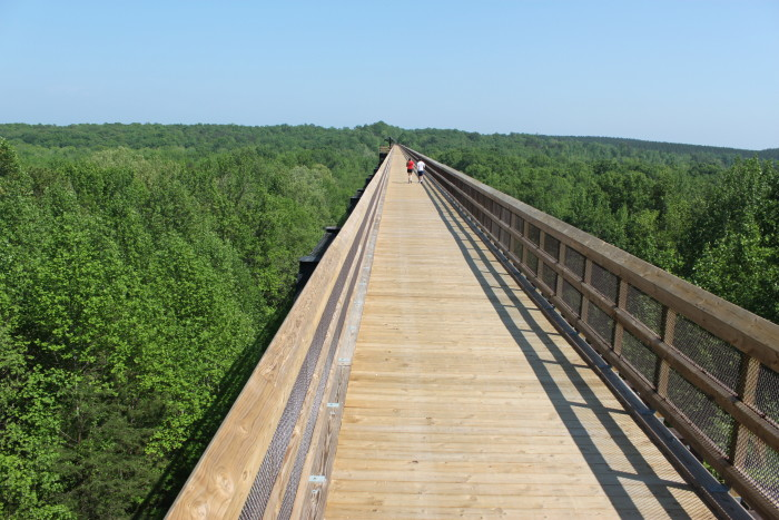 7. High Bridge Trails State Park
