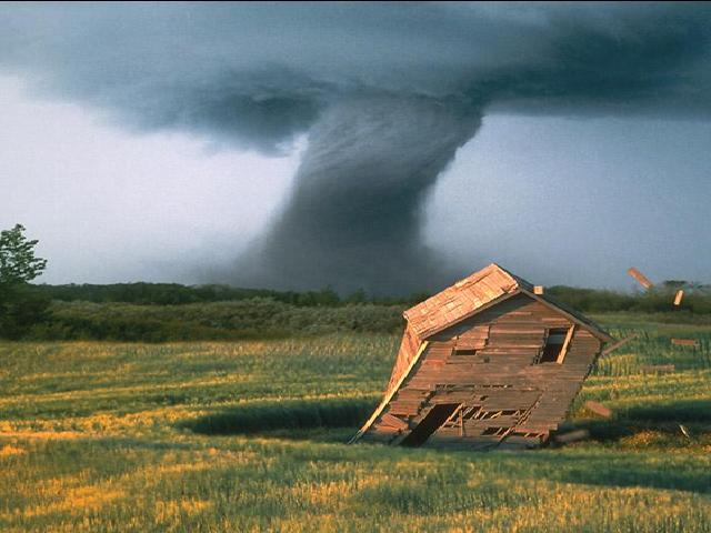 6. Texas experiences more tornadoes per year than any other state in the country with a yearly average of 139.
