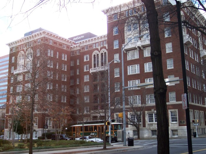 2. The Tutwiler Hotel - Birmingham, AL