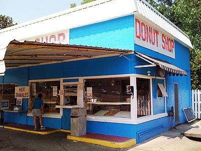 Day 3 Breakfast: The Donut Shop, Natchez