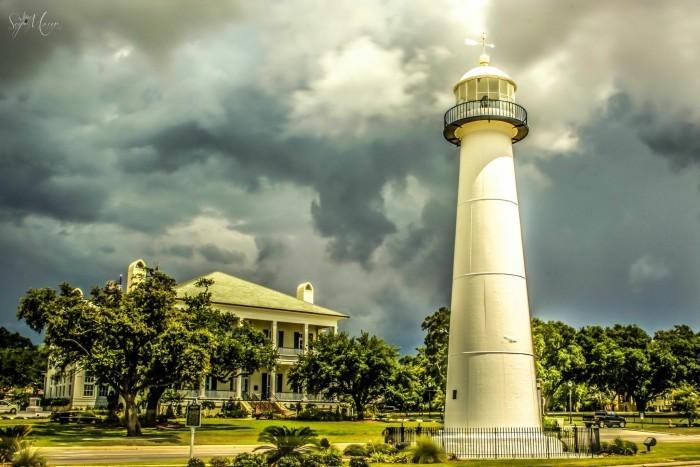 8. Tour the Biloxi Lighthouse.