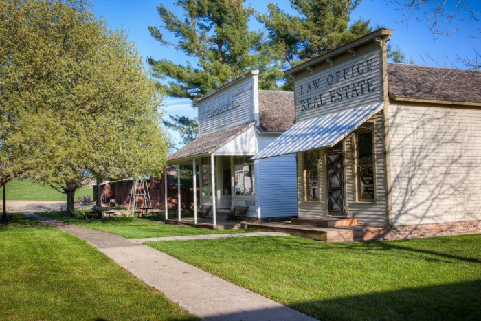 7. Take a walk through the past at the Guthrie County Historical Village in Panora.